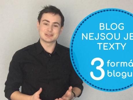 Blogování není jen o psaní, poznejte i další formáty - Daniel Križák