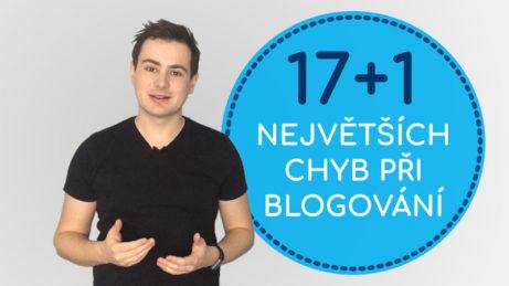 Největší chyby při blogování - Daniel Križák